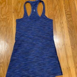 Lululemon cool racerback size 4 blue / heathered